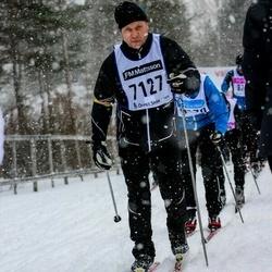 Skiing 90 km - Christer Dunvret (7127)