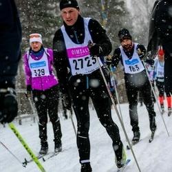 Skiing 90 km - Henrik Ojde (2723)