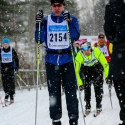 Skiing 90 km - Fredrik Kaskela (2154)