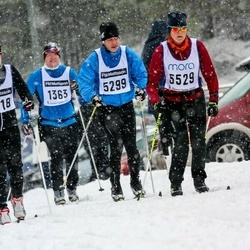 Skiing 90 km - Daniel Brevemark (5299), Elin Olofsson (5529)