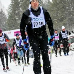 Skiing 90 km - Carl Andersson (7718)