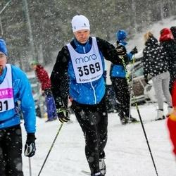 Skiing 90 km - Christian Monteil (3569)