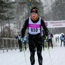 Skiing 90 km - Alexander Clern (650)