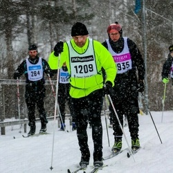 Skiing 90 km - Daniel Furubom (1209)