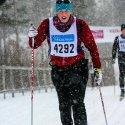 Skiing 90 km - Jenny Eklund (4292)