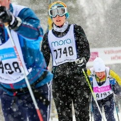 Skiing 90 km - Ellen Skåreby (7748)