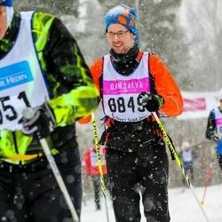 Skiing 90 km - Fredrik Hellberg (8849)