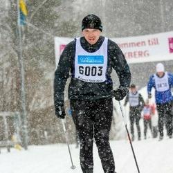 Skiing 90 km - Fredrik Zakariasson (6003)