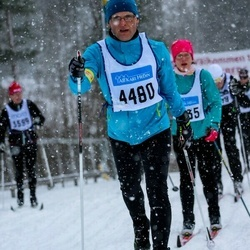 Skiing 90 km - Henrik Bergman (4480)