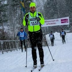 Skiing 90 km - Daniel Jenvén (1333)