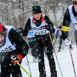 Skiing 90 km - Åsa Wickholm (9362)