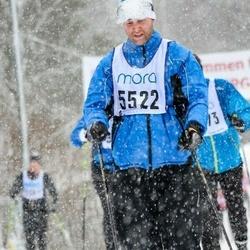 Skiing 90 km - Carl-Fredrik Hillberg (5522)