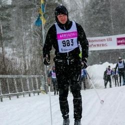 Skiing 90 km - Joakim Tellander (983)