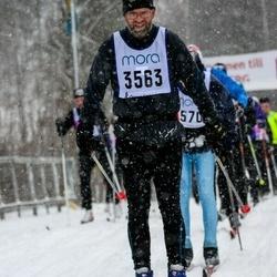 Skiing 90 km - Jonas Karlsson (3563)