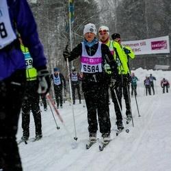 Skiing 90 km - Eva Hjertonsson (6584)