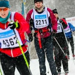 Skiing 90 km - Erlend Godager (2211)