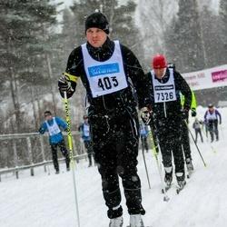Skiing 90 km - Henrik Johansson (403)