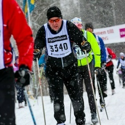Skiing 90 km - Anders Caris (3340)