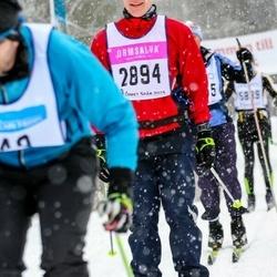 Skiing 90 km - Christian Östman (2894)
