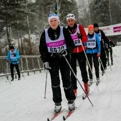 Skiing 90 km - Ebba Alvestrand (6670)
