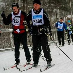 Skiing 90 km - Henrik Engblom (6300)