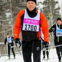 Skiing 90 km - Anders Melander (2700)