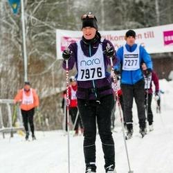 Skiing 90 km - Cecilia Andersson (7976)