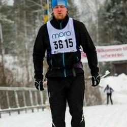 Skiing 90 km - Henrik Wendel (3615)