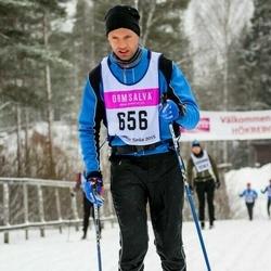 Skiing 90 km - Henrik Johansson (656)