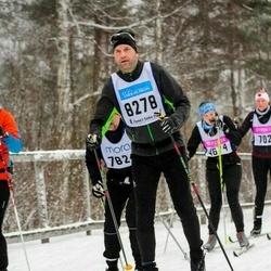 Skiing 90 km - Anders Brandt (8278)