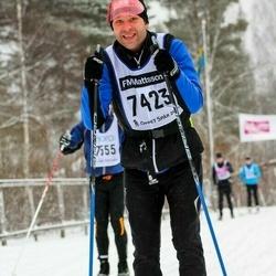 Skiing 90 km - Daniel Lundberg (7423)