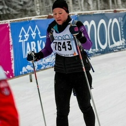Skiing 90 km - Hilde Kristine Trahaug-Levorsen (7643)