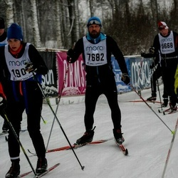 Skiing 90 km - Henrik Norrgård (7682)