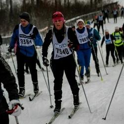 Skiing 90 km - Emeli Ryman (7540)
