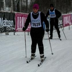 Skiing 90 km - Cecilia Lidö Bauman (7629)