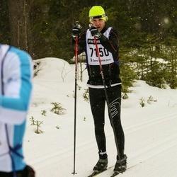 Skiing 90 km - Marcus Kindevåg (7150)