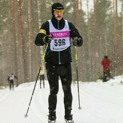 Skiing 90 km - Magnus Bergström (596)