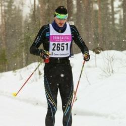 Skiing 90 km - Kristian Olofsson (2651)