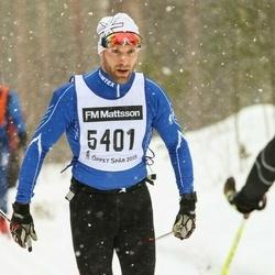 Skiing 90 km - Andreas Brännström (5401)