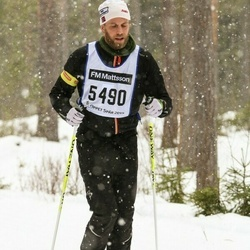 Skiing 90 km - Marcus Broman (5490)