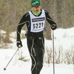 Skiing 90 km - Jonas Våtz (5221)