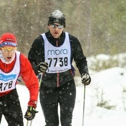Skiing 90 km - Henrik Johansson (7738)