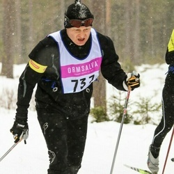 Skiing 90 km - Christer Ramdén (737)