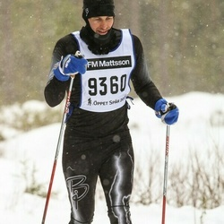 Skiing 90 km - Daniel Crafoord-Larsen (6360)