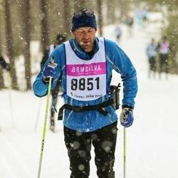 Skiing 90 km - Henrik Thörnqvist (8851)