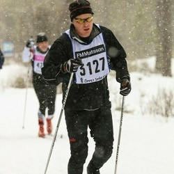 Skiing 90 km - Anders Jagefeldt (3127)