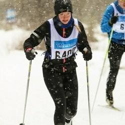 Skiing 90 km - Cathrine Axfors (6400)