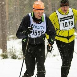 Skiing 90 km - Anders Lindeborg (1556)