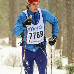 Skiing 90 km - Arvid Borglund (7768)