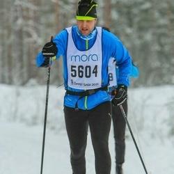 Skiing 90 km - Thomas Fange (5604)